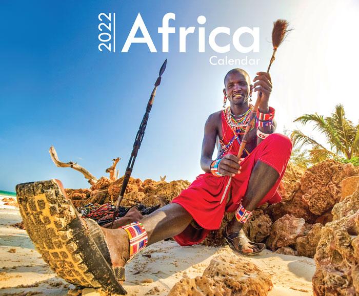 Africa A4 Wall Calendar 2022