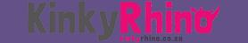 Kinky Rhino Greeting Cards