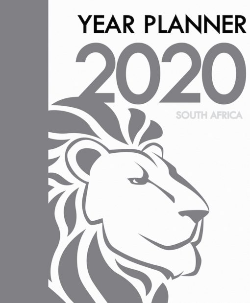 A4_Year Planner Book 2020 Front