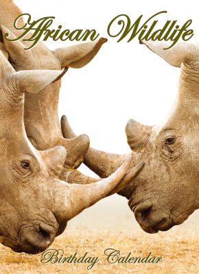 Wildlife Birthday Cover