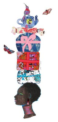 African Girl Gifts-Celebrate Card