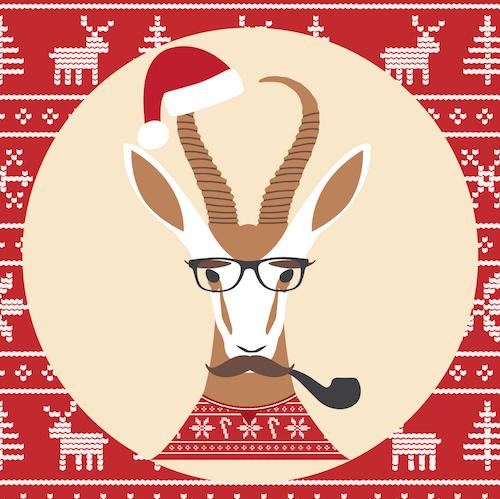 Boktastic Christmas - Christmas Card