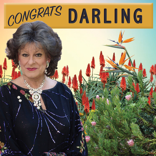 Congrats Darling-Celebrate Card