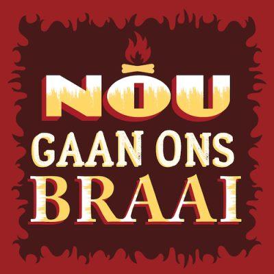 Gaan ons Braai-Celebrate Card