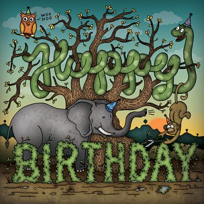 Have a Wild Birthday-Birthday Card