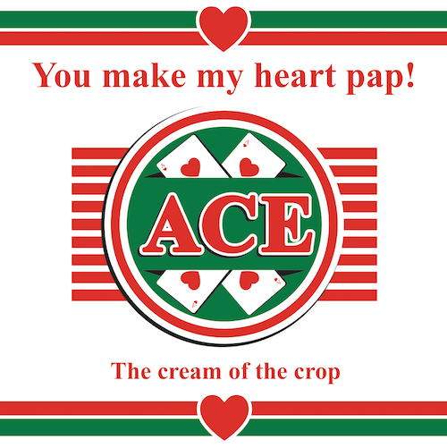 Heart Pap-Love Card