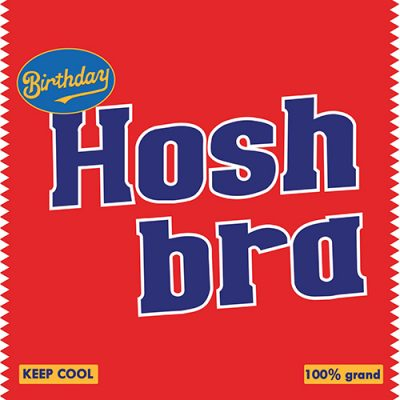 Hosh Bra-Birthday Card