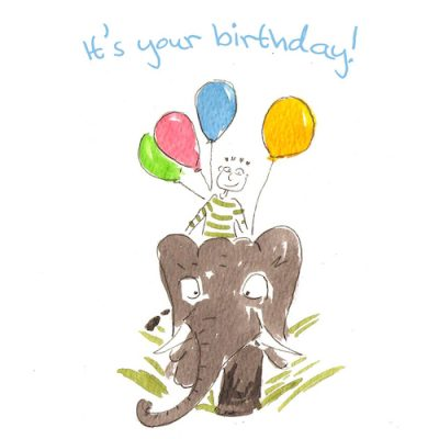 Its Your Birthday-Birthday Card