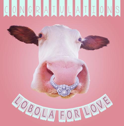 Lobola Love-Wedding Card