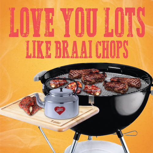 Lots like Braai Chops-Love Card