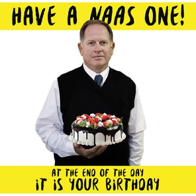 Naas One-Birthday Card