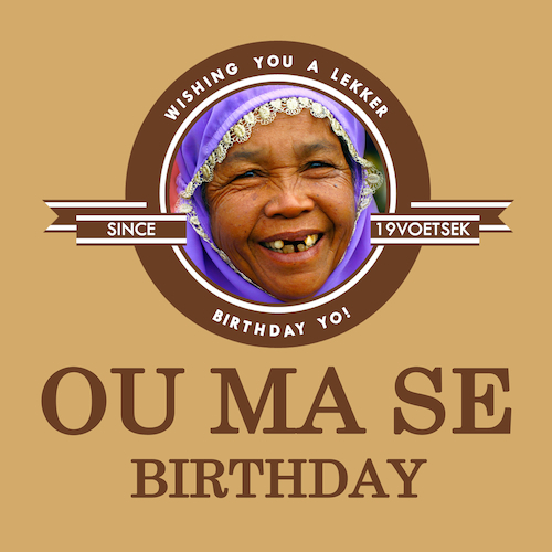 OuMa Birthday-Birthday Card