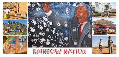 Rainbow Nation Postcard