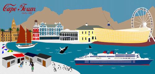 Cape Town Mother City Postcard