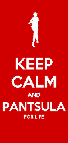 Keep Calm and Pantsula Postcard