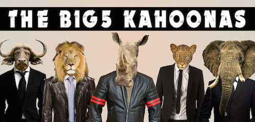 The Big5 Kahoonas Postcard