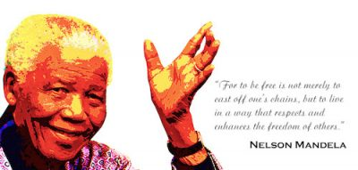 Nelson Mandela Postcard