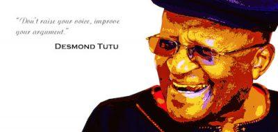 Desmond Tutu Postcard