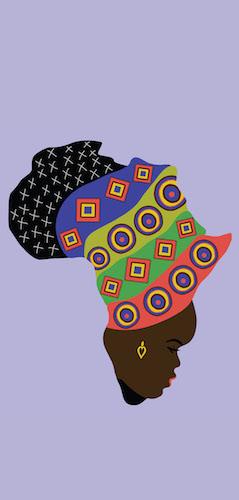 Mama Afrika Postcard