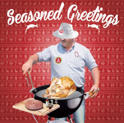 Seasoned Greetings - Christmas Card