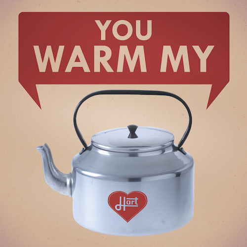 Warm my Hart-Love Card