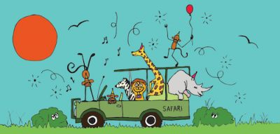 Wild Safari-Celebrate Card