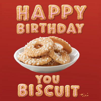 You Biscuit-Birthday Card